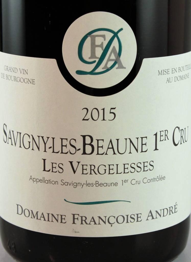 Francoise Andre 2015 Savigny-Les-Beaune 1er Cru Les Vergelesses