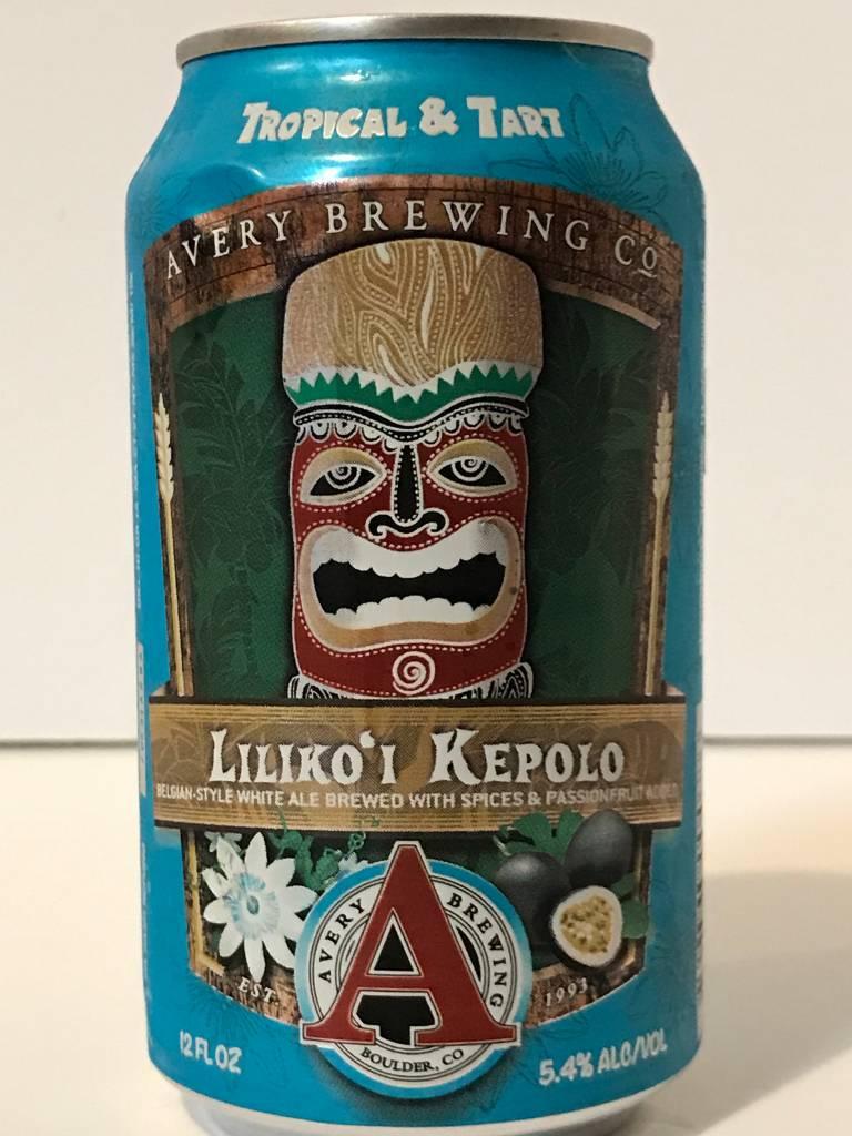 "Avery Brewing ""Liliko'i Kepolo"" Witbier, Colorado"