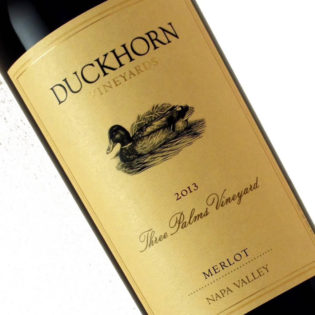 Duckhorn Vineyards 2013 Merlot Three Palms Vineyards, Napa Valley