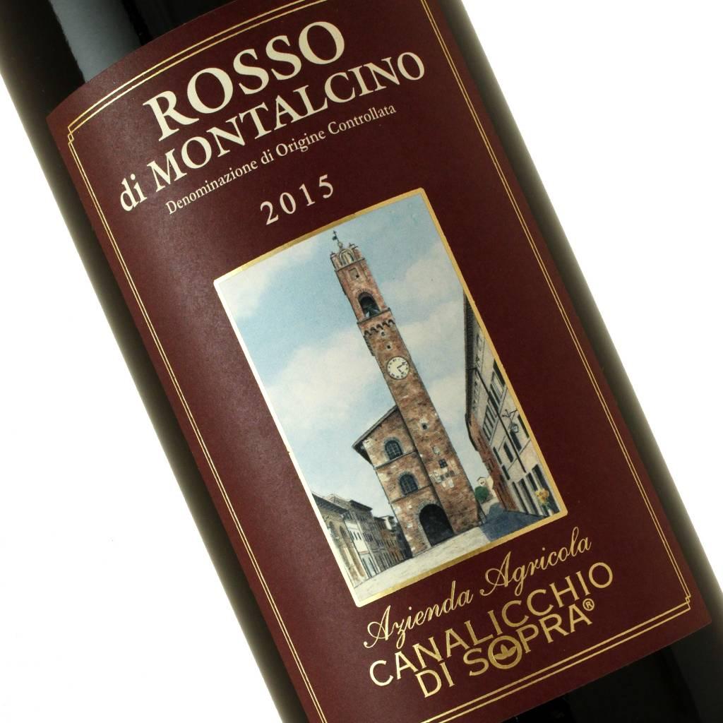 Canalicchio Di Sopra 2015 Rosso di Montalcino