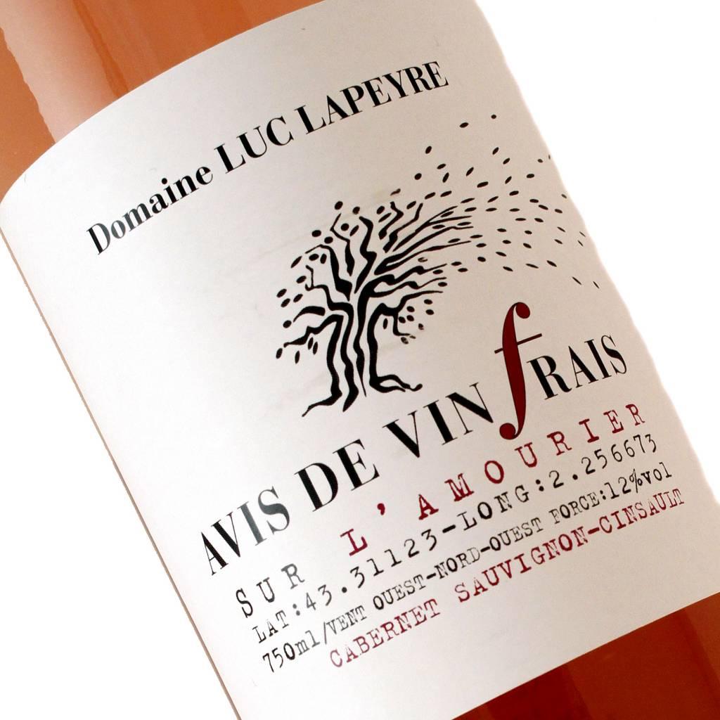 Domaine Luc Lapeyre 2016 Avis de Vin Frais Rose