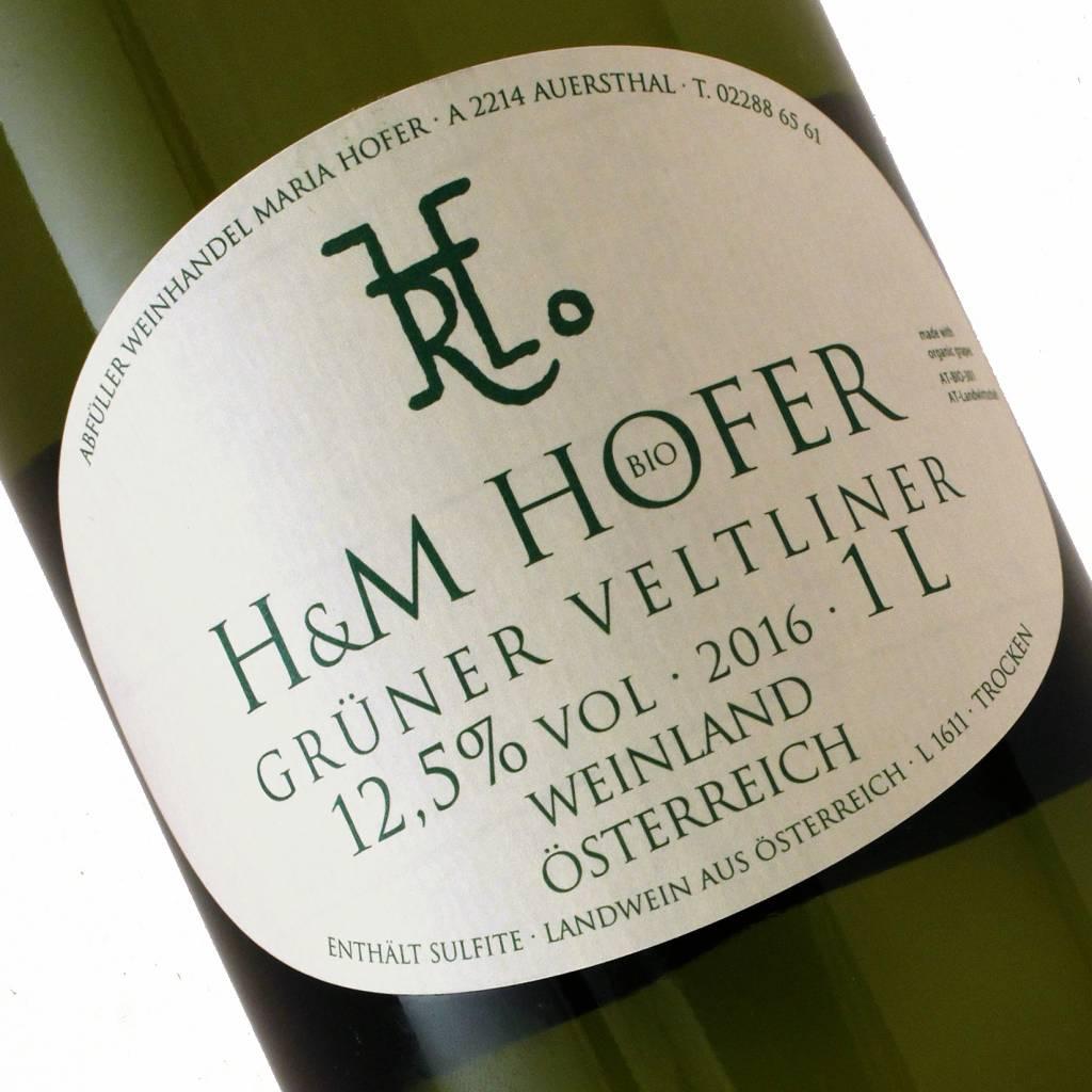 H&M Hofer 2016 Gruner Veltliner, Weinland, Austria 1 Liter
