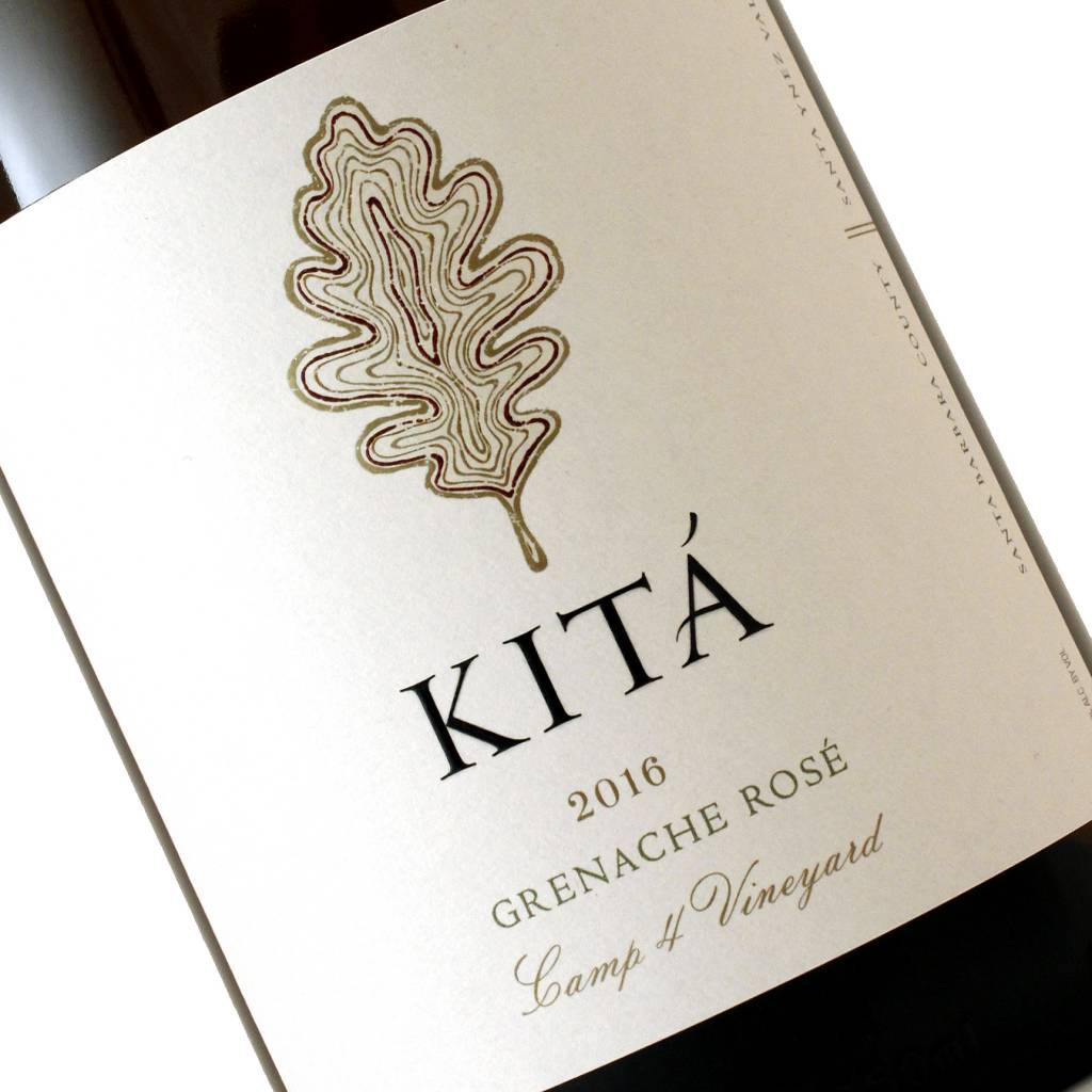 Kita 2016 Grenache Rose Camp 4 Vineyard, Santa Ynez