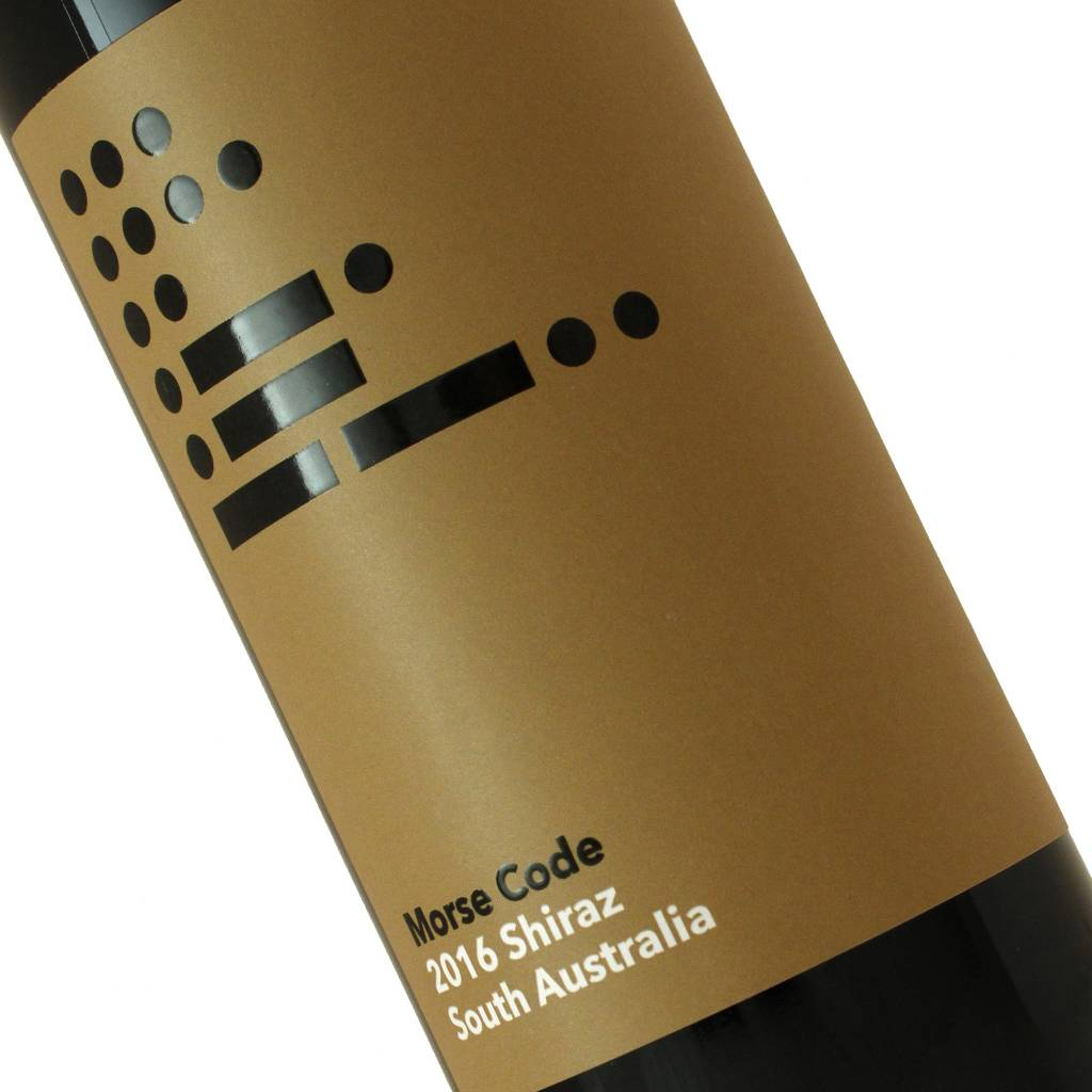 Morse Code 2016 Shiraz, South Australia