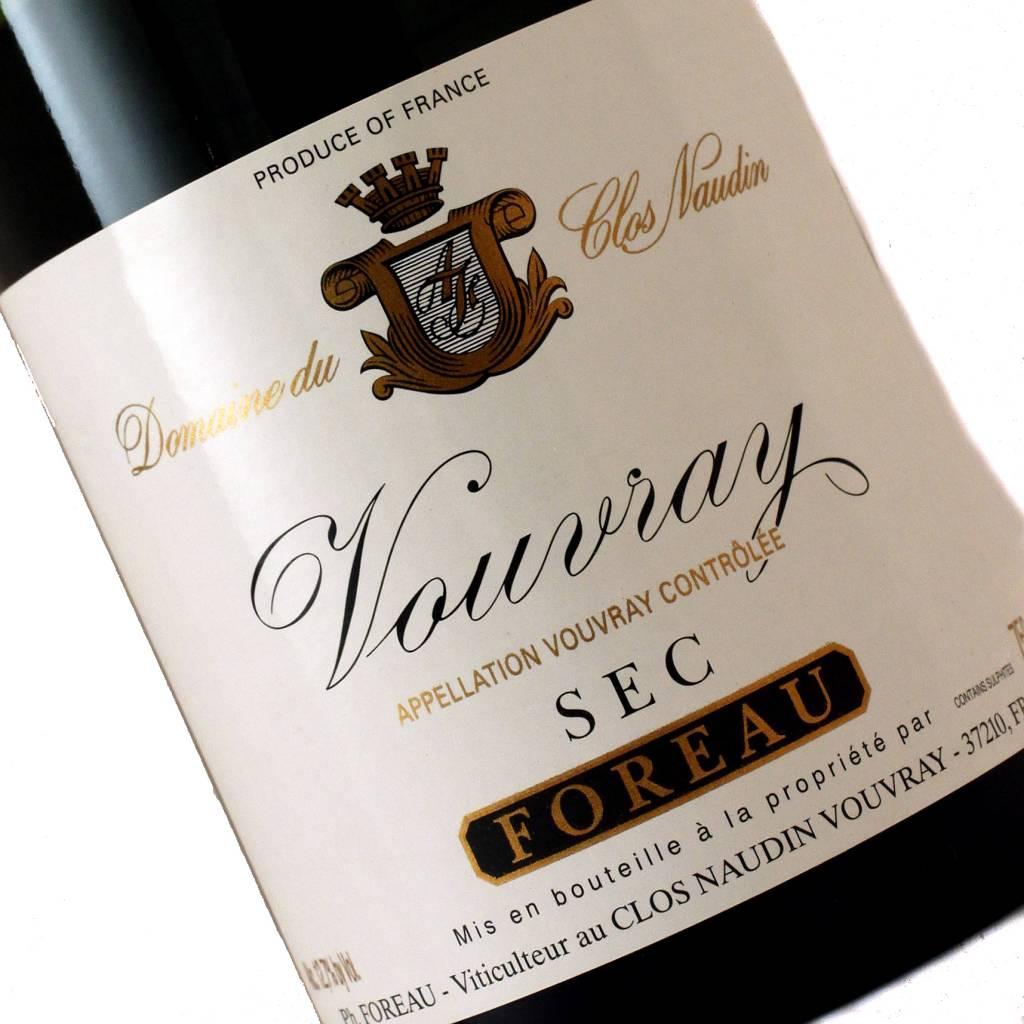 "Foreau 2013 Vouvray Sec ""Clos Naudin"""