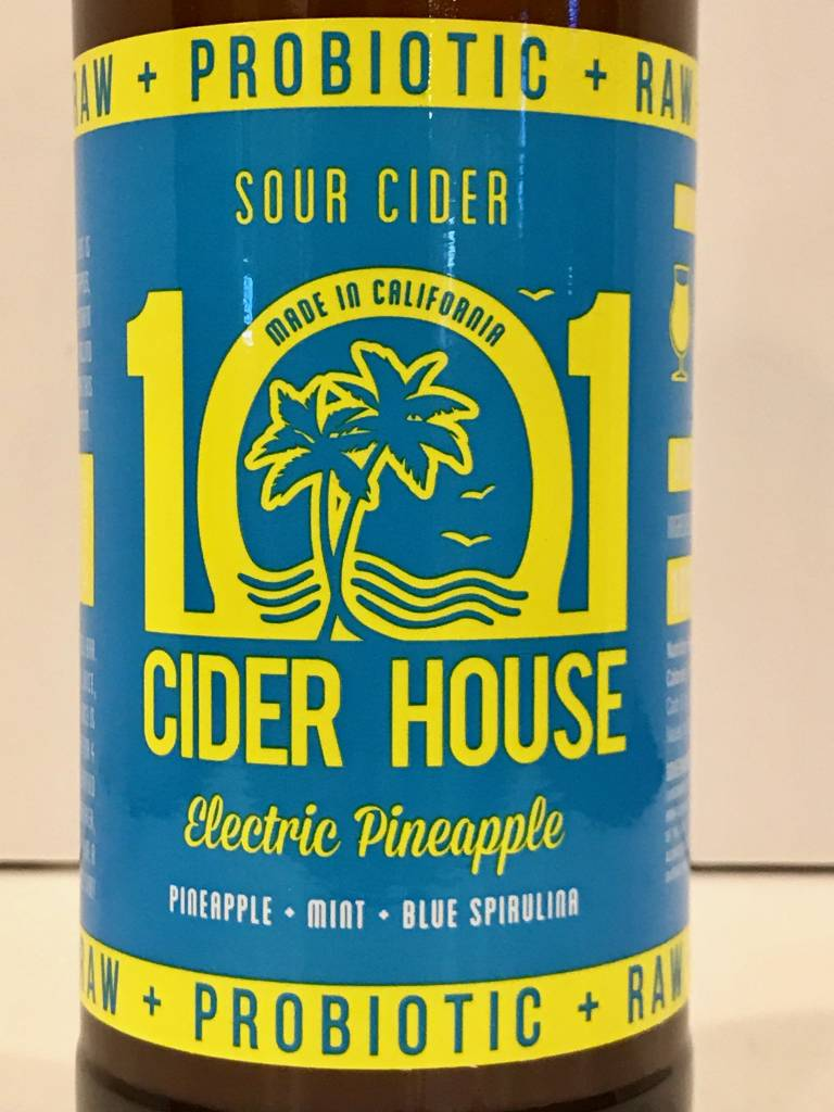 """101 Cider House """"Electric Pineapple"""" Sour Cider"""