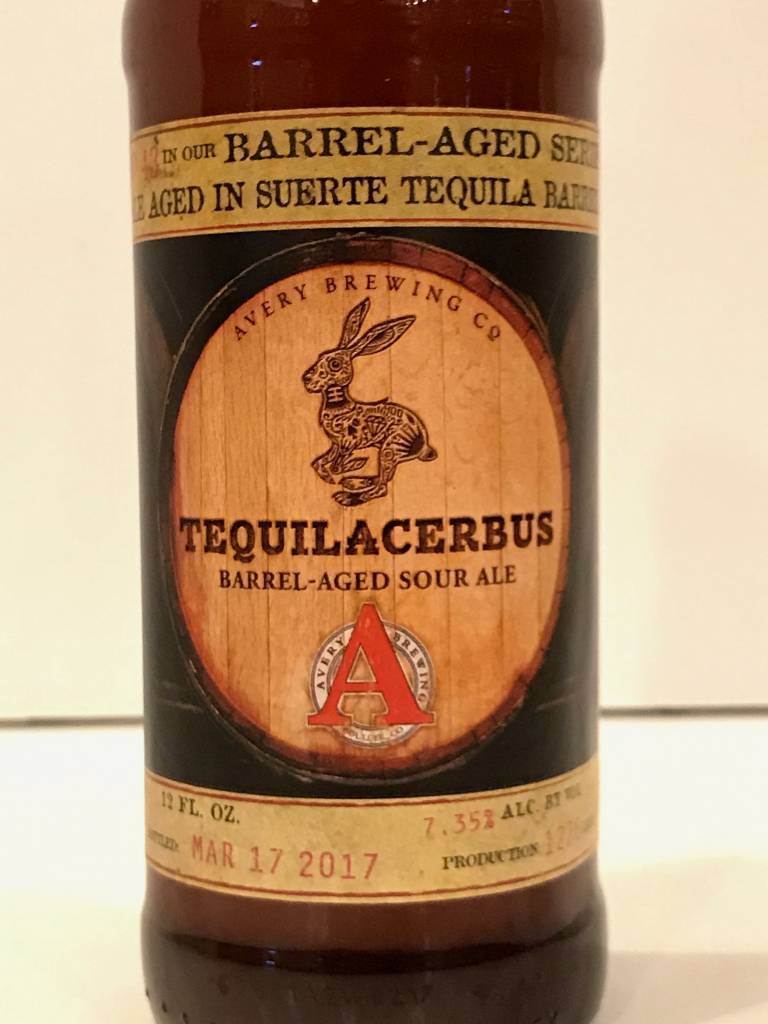 "Avery Brewing ""Tequilacerbus"" Tequila Sour, Colorado"
