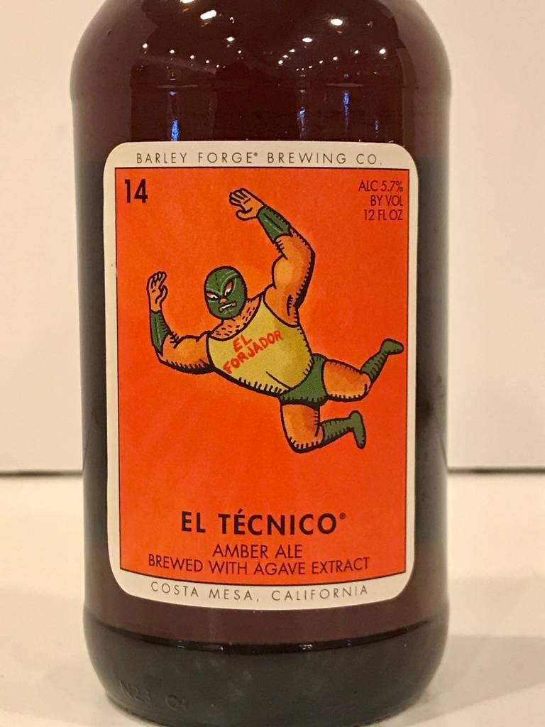 "Barley Forge Brewing ""El Tecnico"" Amber, California"