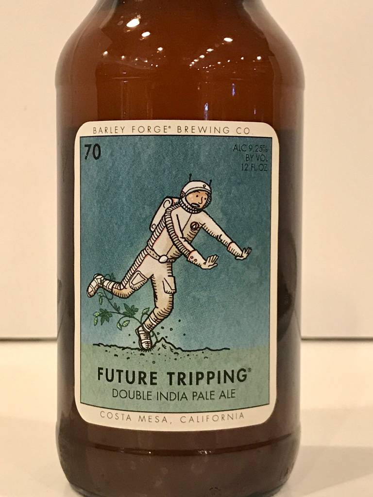 "Barley Forge Brewing ""Future Tripping"" DIPA, California"