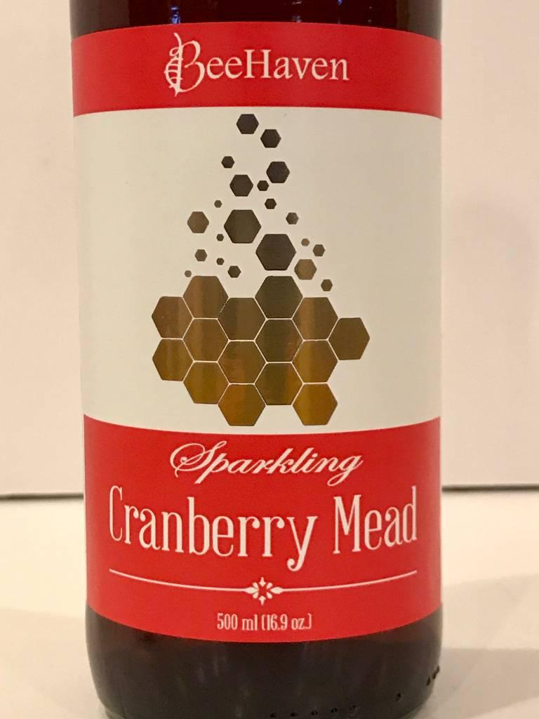 "BeeHaven ""Sparkling Cranberry Mead"", Washington"