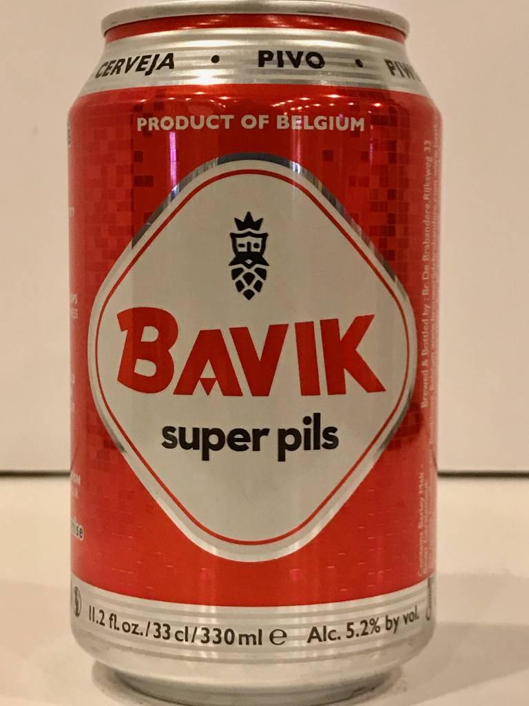 Bavik Pilsner Beer, Belgium