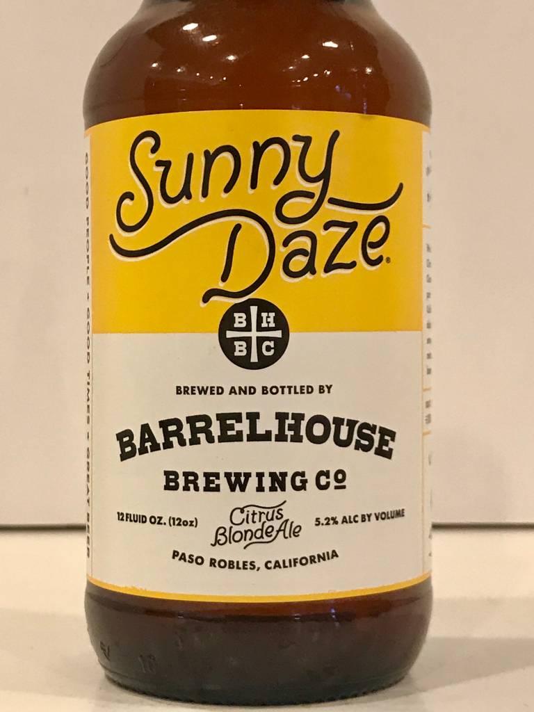 "Barrelhouse Brewing ""Sunny Daze"" Blonde, California"