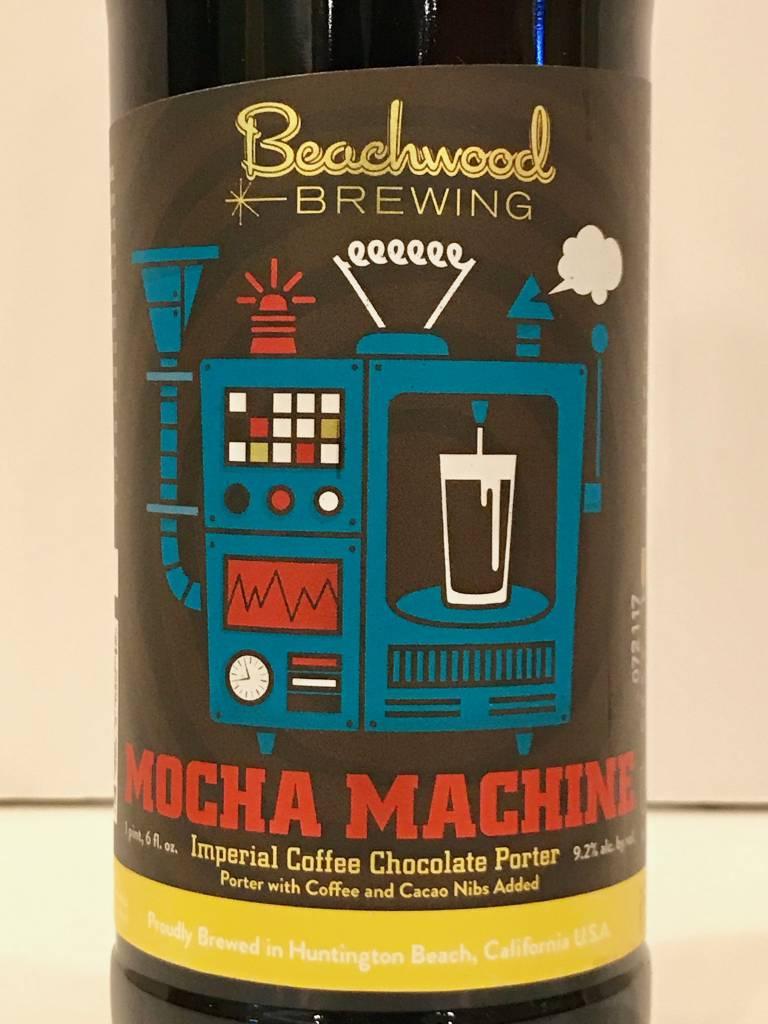 "Beachwood Brewing ""Mocha Machine"" Imperial Coffee Chocolate Porter, California"