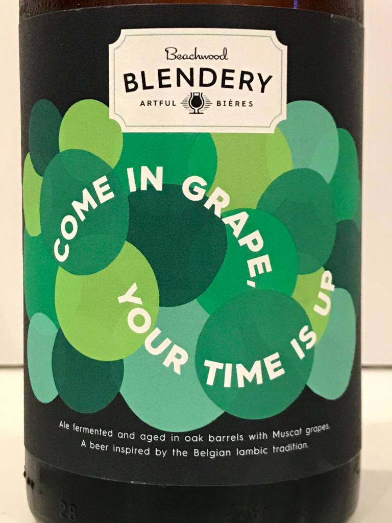 """Beachwood Blendery """"Come in Grape, Your Time Is Up"""" Sour, California"""