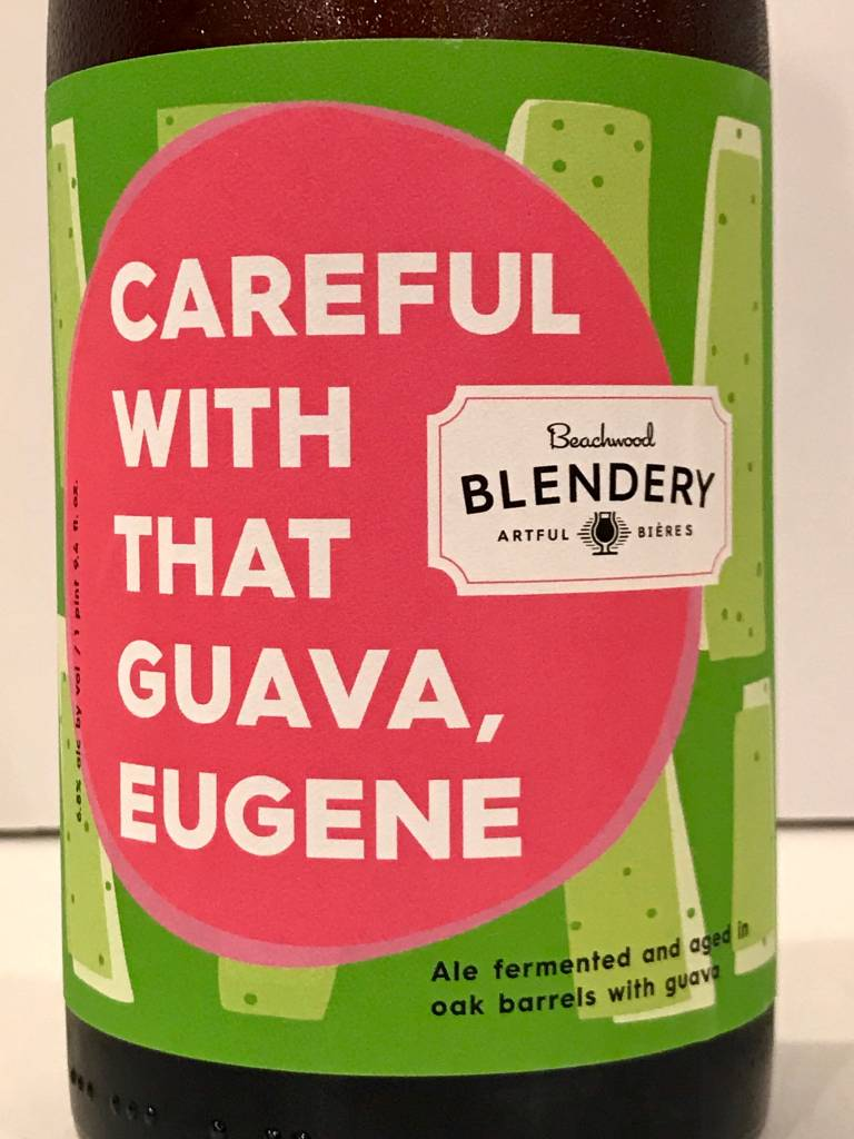 "Beachwood Blendery ""Careful With That Guava, Eugene"" Sour, California"