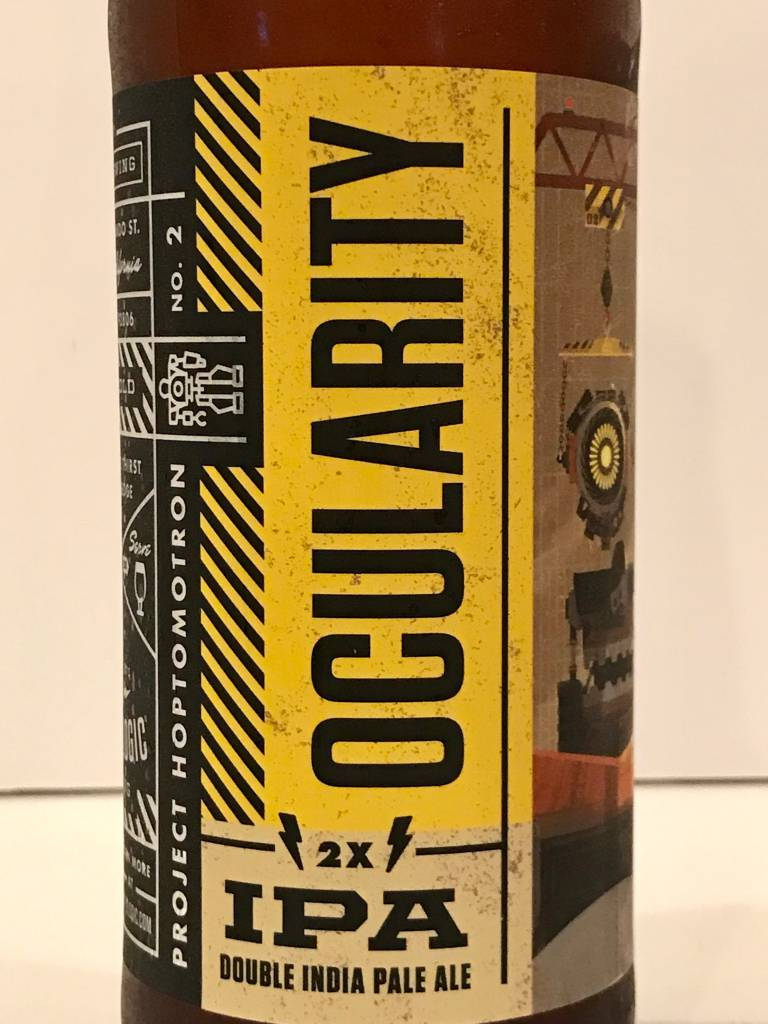 "Bottle Logic Brewing ""Ocularity 2X"" DIPA, California"