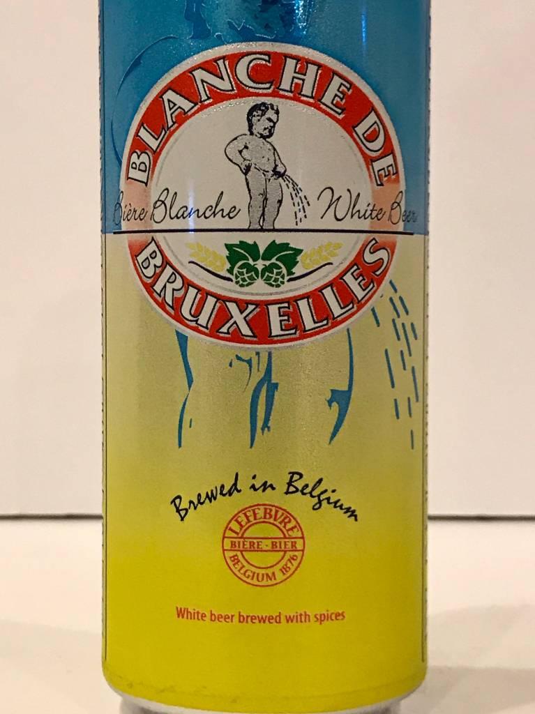 Blanche De Bruxelles White Beer, Belgium - Can