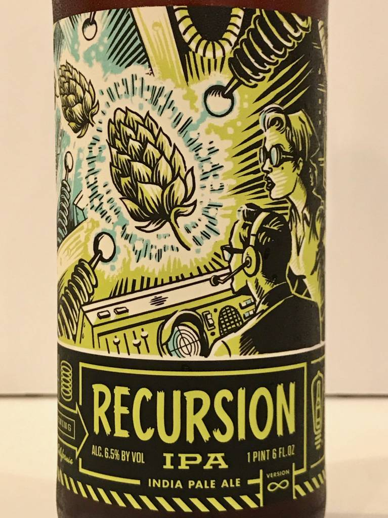 "Bottle Logic Brewing ""Recursion"" IPA, California"