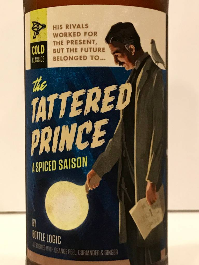 "Bottle Logic Brewing ""Tattered Prince"" Spiced Saison, California"