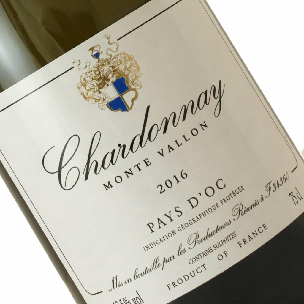 Monte Vallon 2016 Chardonnay Pays D'Oc