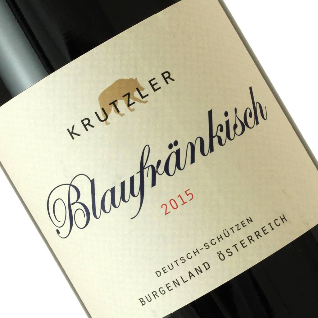 Krutzler 2015 Blaufrankisch, Burgenland, Austria