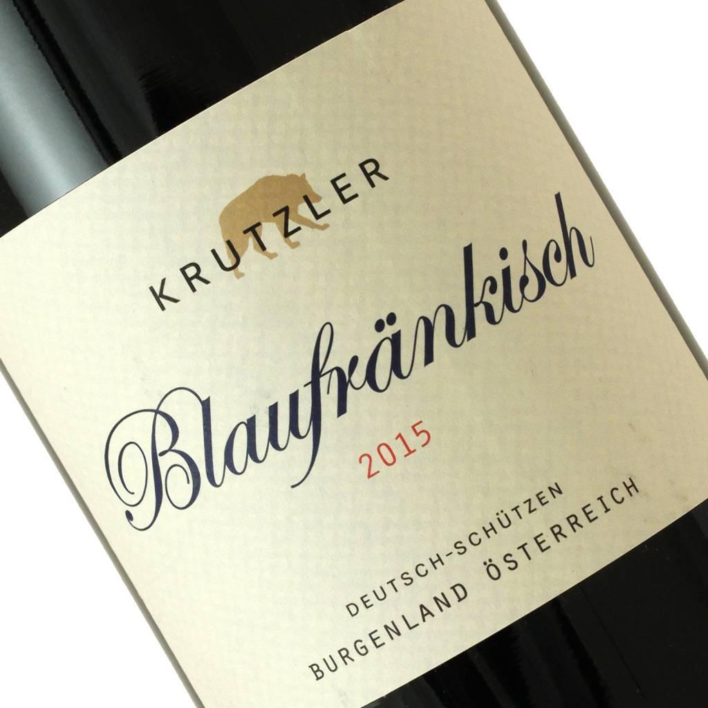 Krutzler 2015 Blaufrankisch, Burgenland