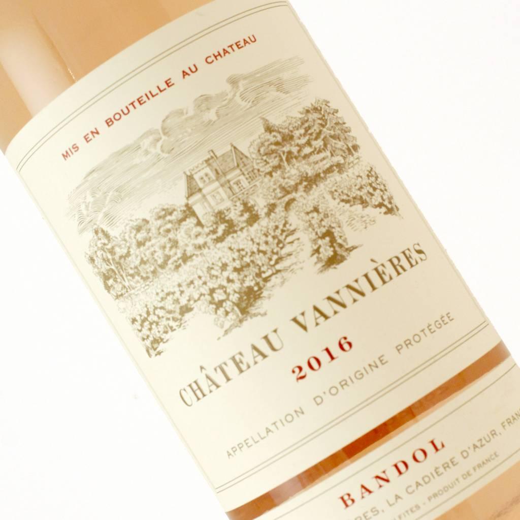 Chateau Vannieres 2016 Bandol Rose