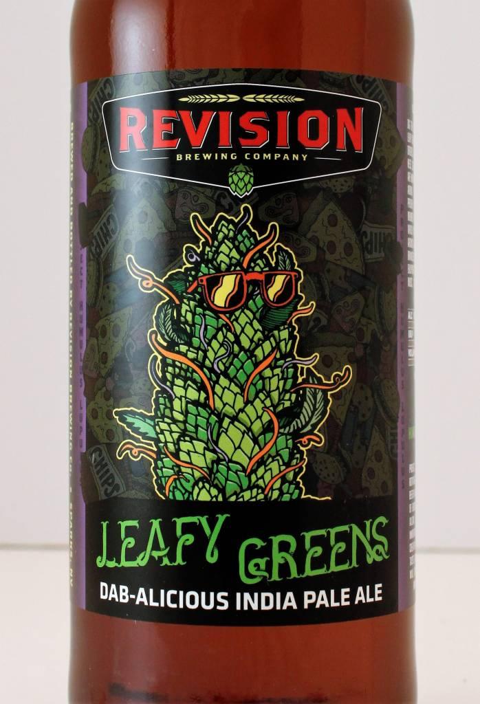 "Revision Brewing ""Leafy Greens"" IPA, Nevada 22oz."
