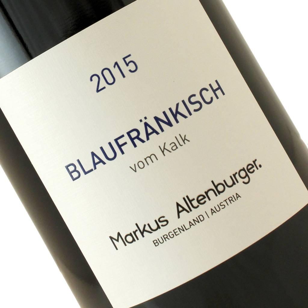 """Markus Altenburger 2015 Blaufrankisch """"vom Kalk"""" Burgenland, Austria"""