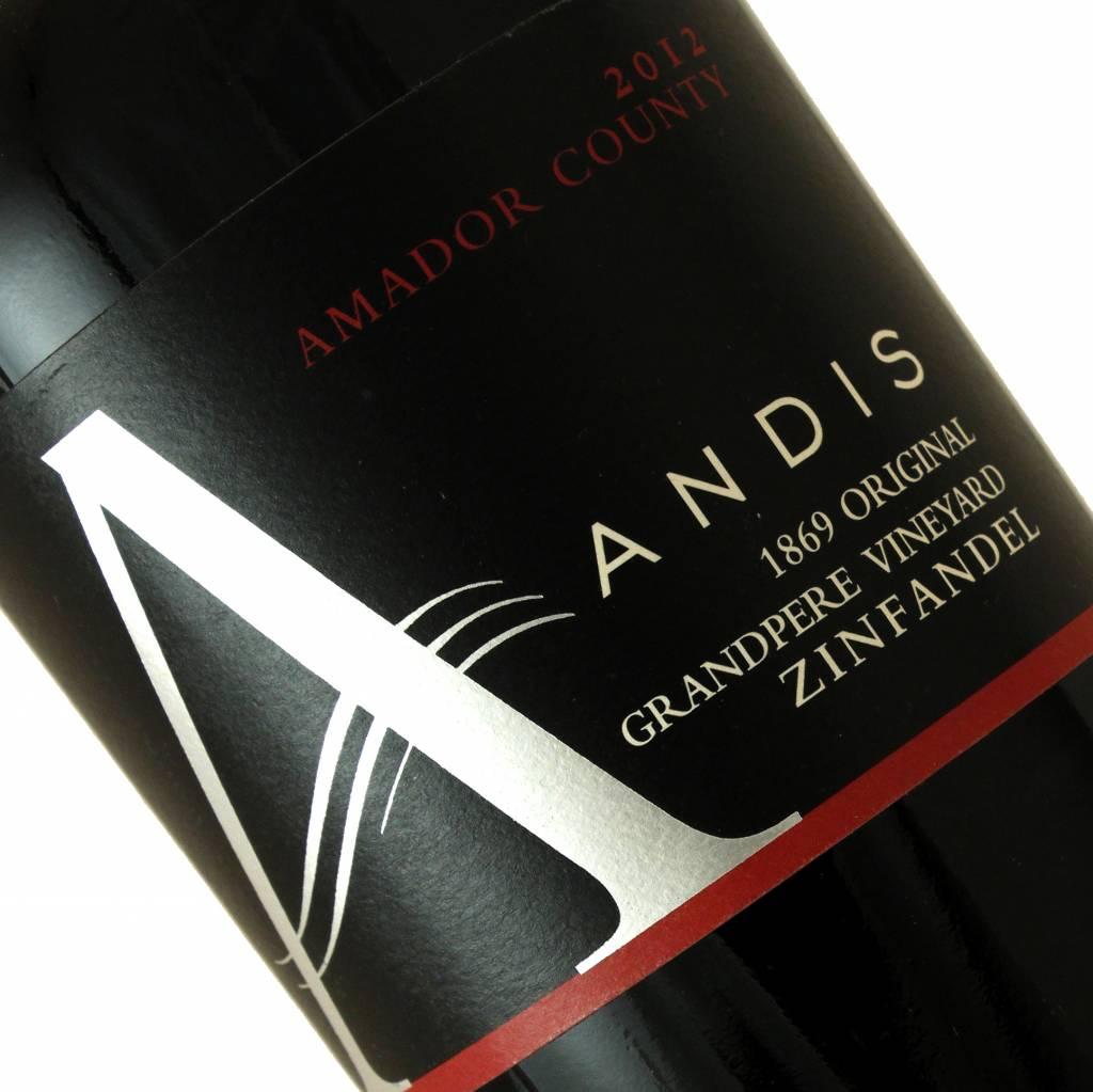 Andis 2012 Zinfandel Grandpere Vineyard, Amador County