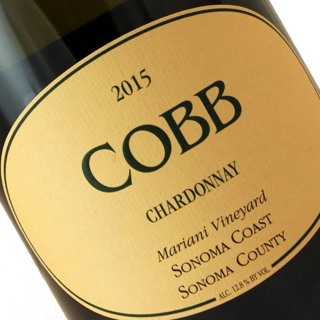 Cobb 2015 Chardonnay Mariani Vineyard Sonoma Coast