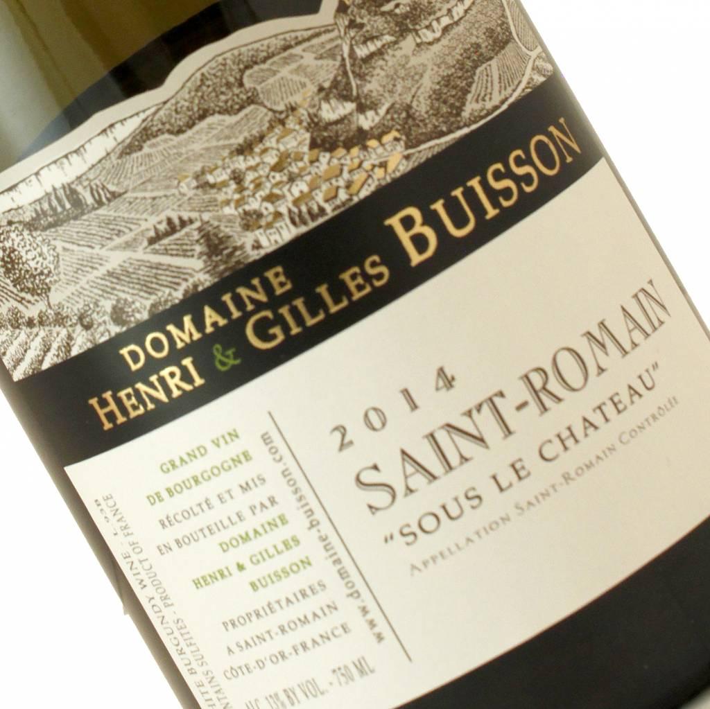 """Domaine Buisson 2014 Saint-Romain """"Sous Le Chateau"""" Bourgogne Blanc"""