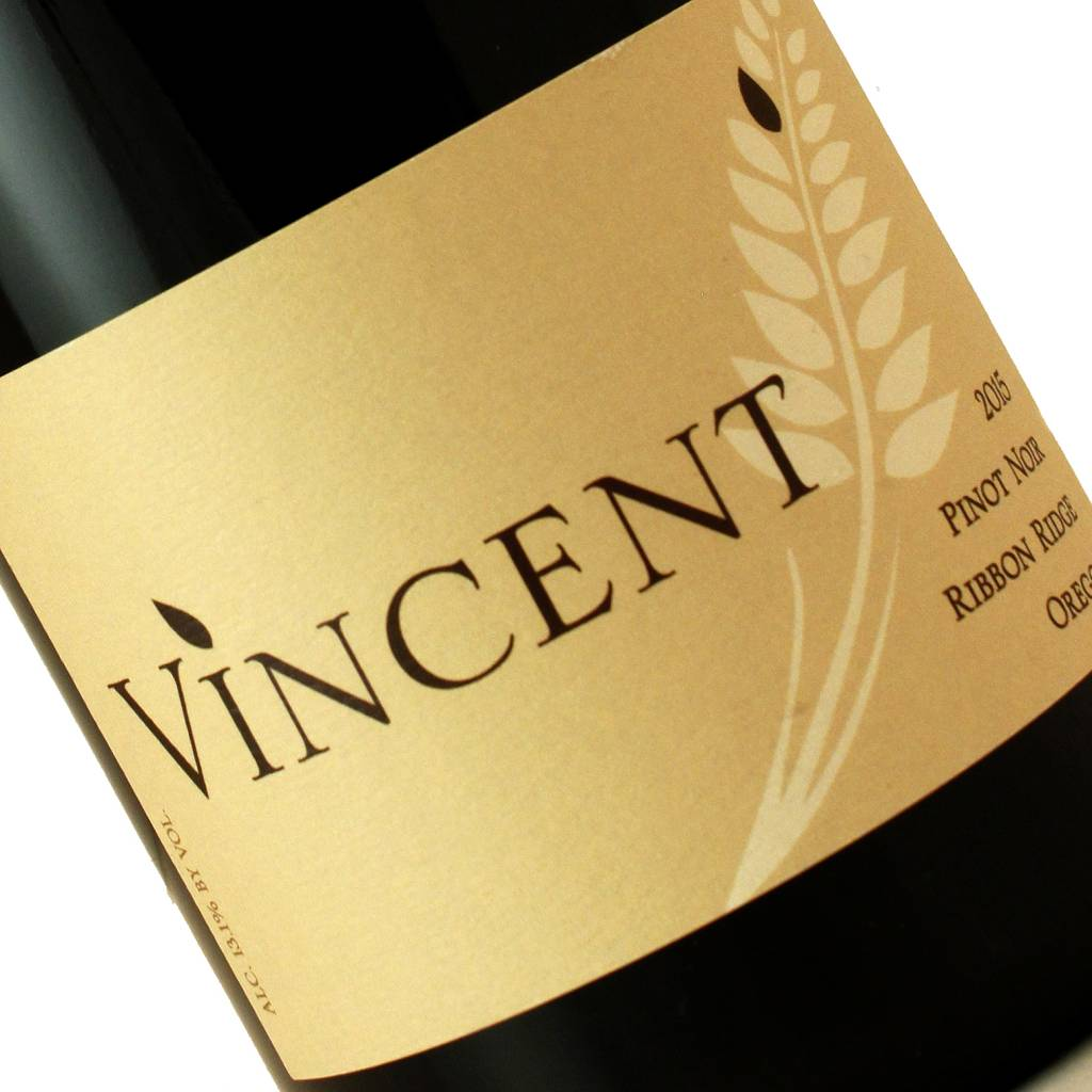 Vincent 2015 Pinot Noir Ribbon Ridge, Oregon