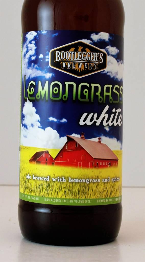 """Bootlegger's """"Lemongrass White"""" Ale"""