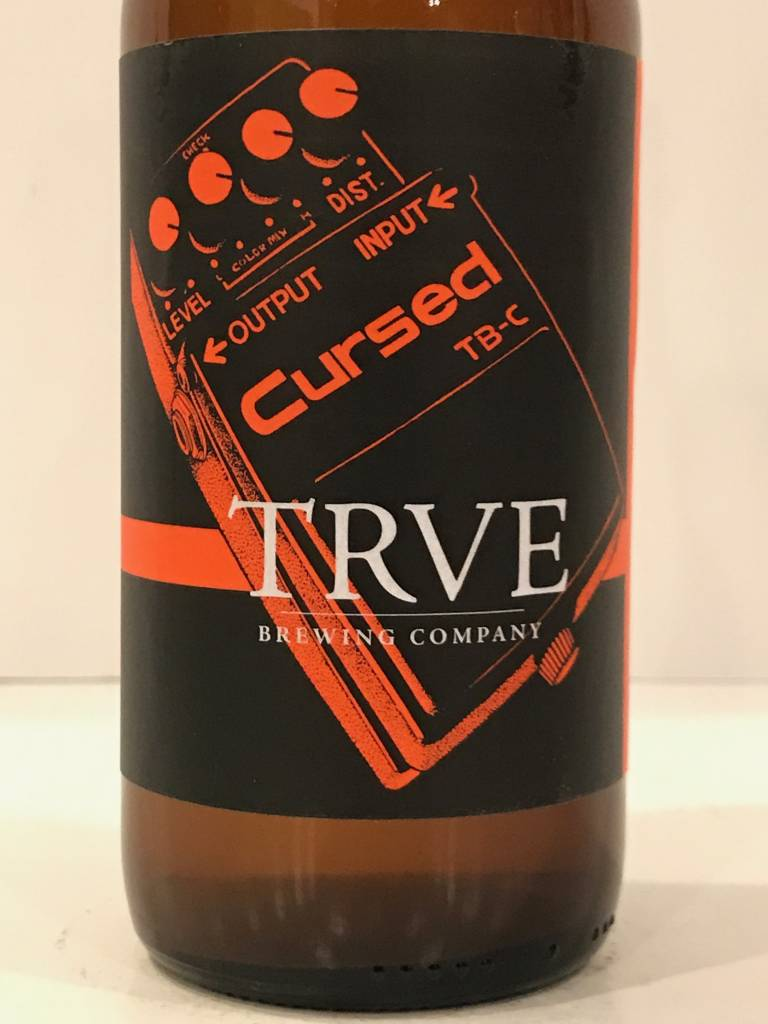 "TRVE ""Cursed"" Sour Pale Ale. Colorado"
