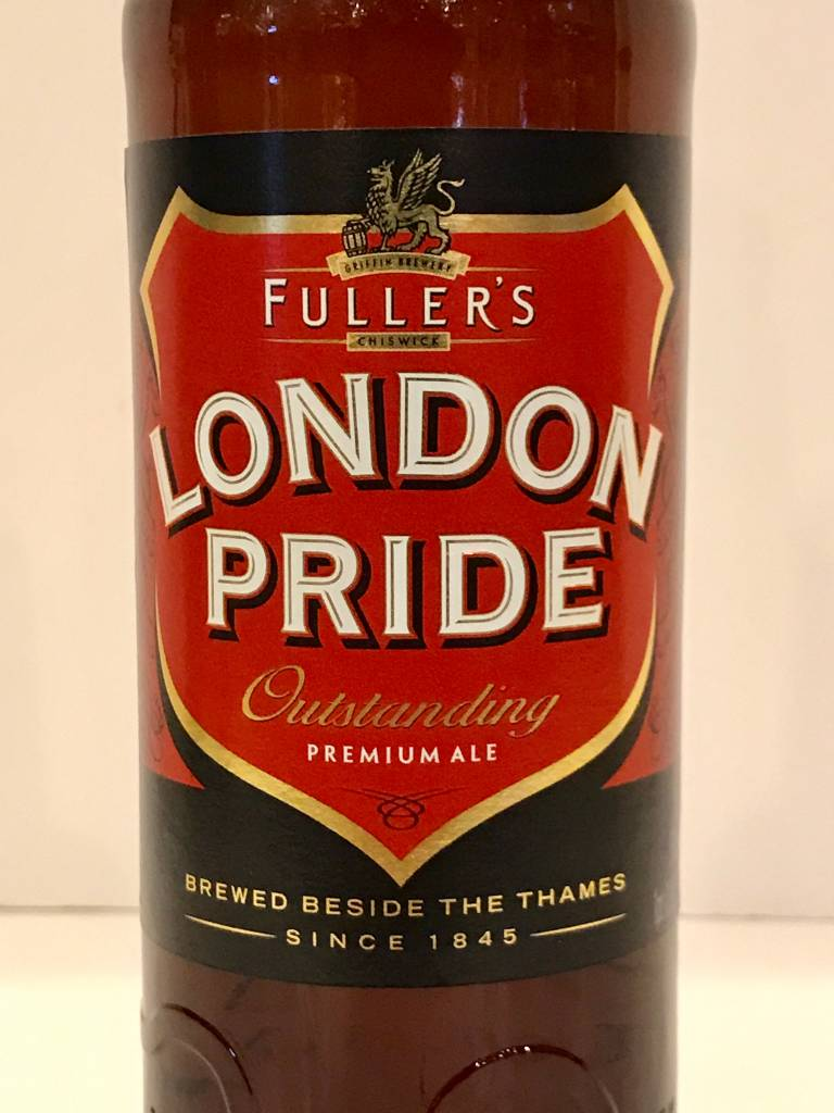 Fuller's Brewing London Pride Outstanding Premium Ale, England