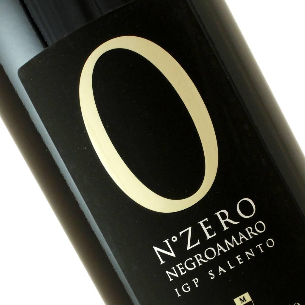 """Cantine Menhir Salento 2013 Negroamaro """"N. Zero"""" Puglia"""