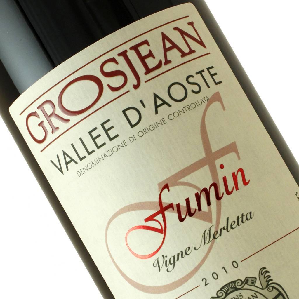 """Grosjean 2010 Fumin """"Vigne Merletta"""" Vallee D'Aoste"""