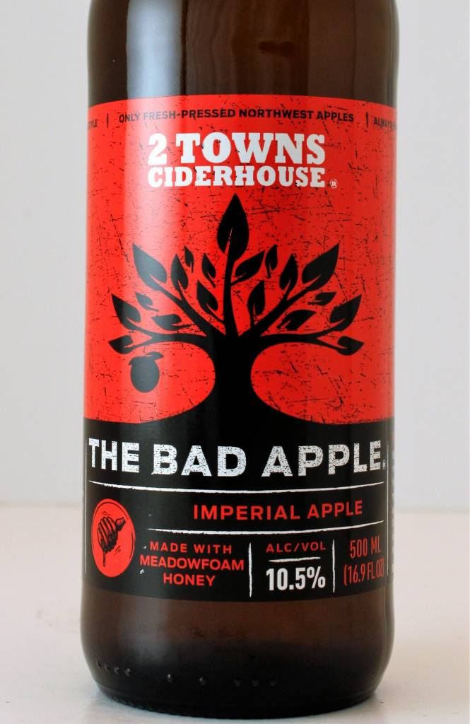 """2 Towns Ciderhouse """"The Bad Apple"""" Imperial Apple Cider"""