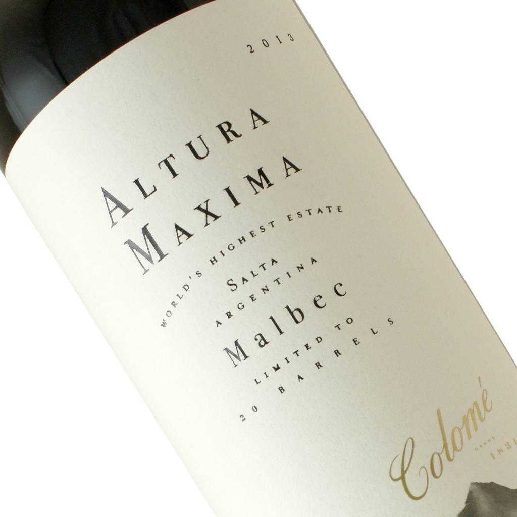 Colome 2013 Malbec Altura Maxima, Argentina
