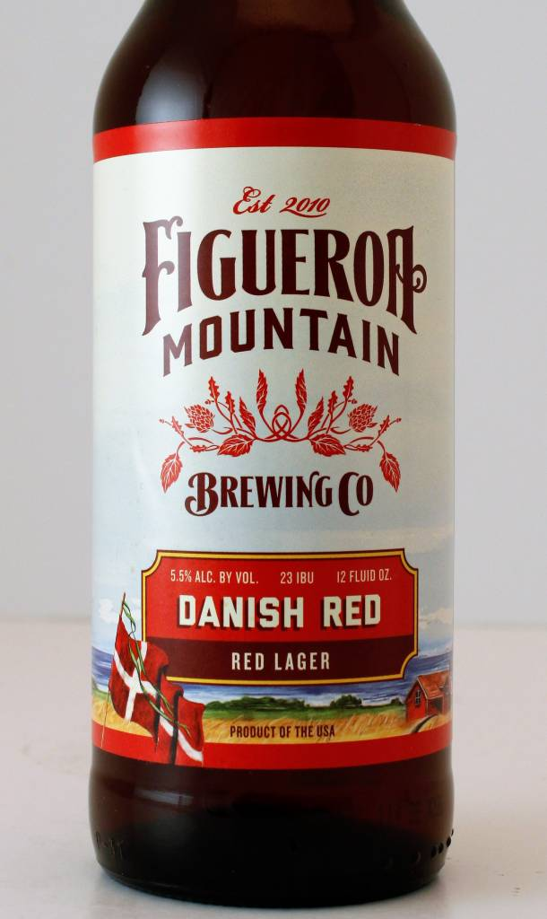 Figueroa Mountain Brewing Danish Red Lager, California