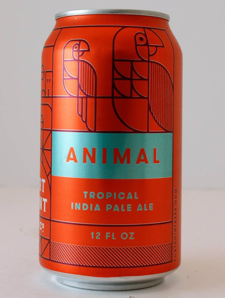 "Fort Point Brewing ""Animal"" Tropical India Pale Ale, California"