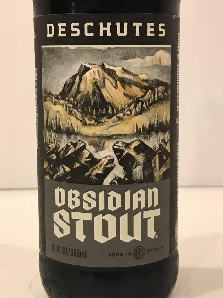 "Deschutes ""Obsidian Stout"", Oregon"