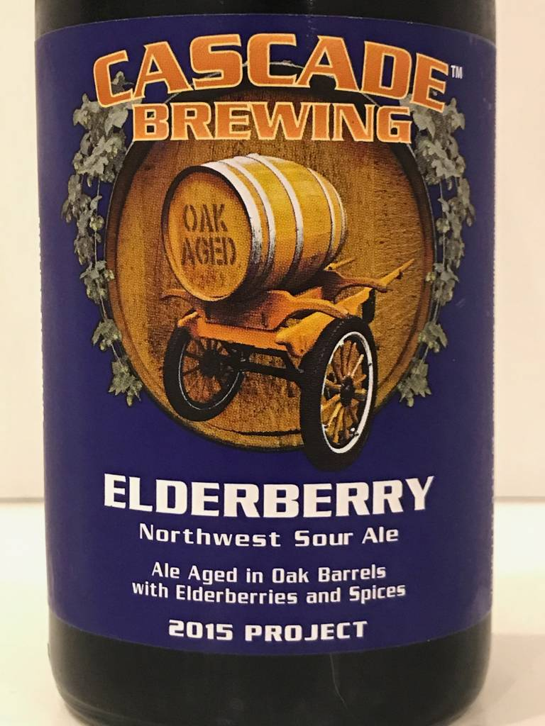 "Cascade Brewing ""Elderberry"" Sour Ale, Oregon"