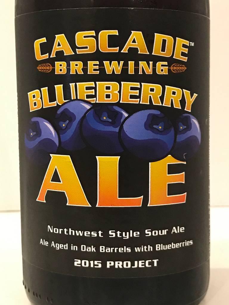 "Cascade Brewing ""Blueberry"" Sour Ale, Oregon"
