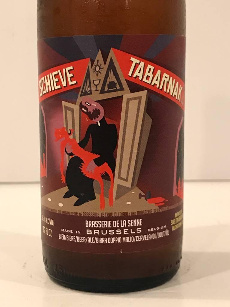 """De La Senne """"Schieve Tabarnak #4 Rye IPA, Belgium"""
