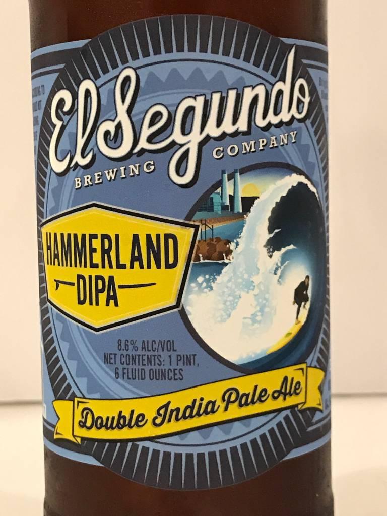"El Segundo Brewing ""Hammerland"" DIPA , California"