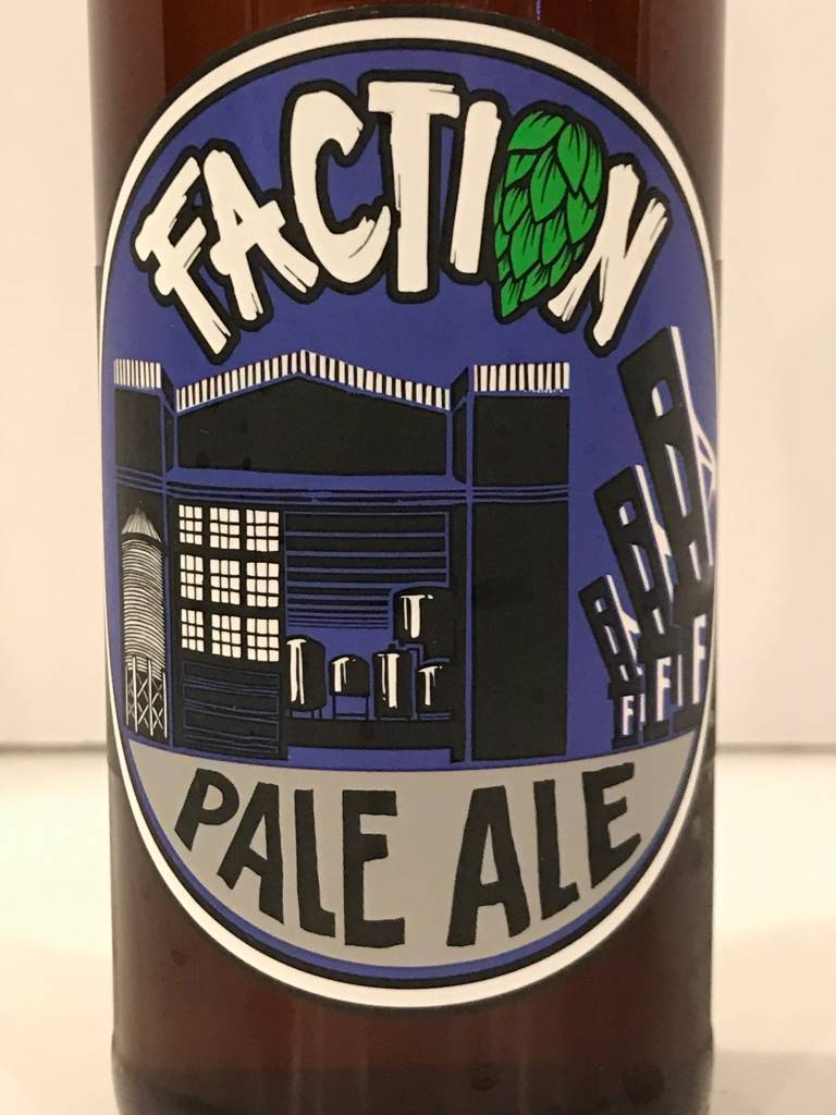 "Faction Brewing ""Pale Ale"", California"