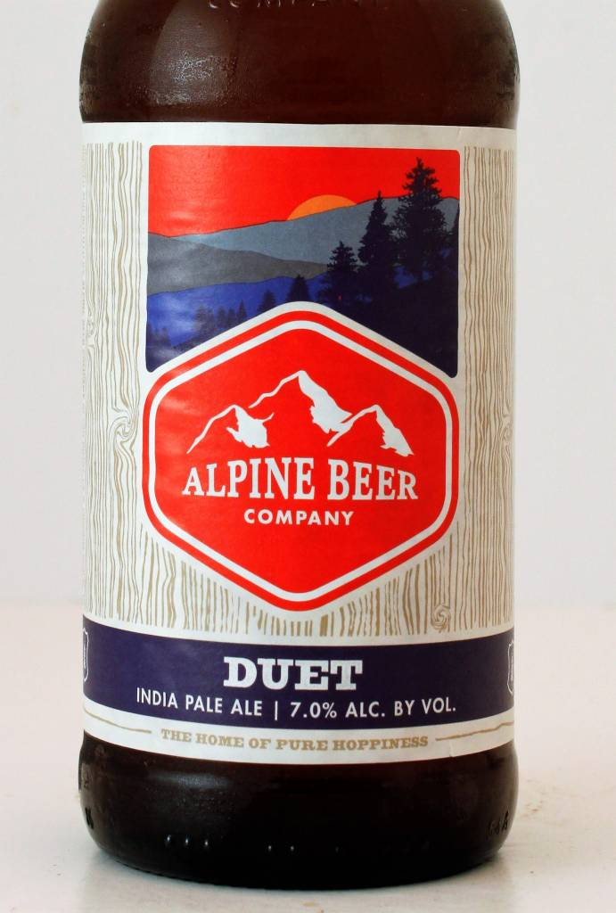 "Alpine Beer Company ""Duet"" IPA, California"