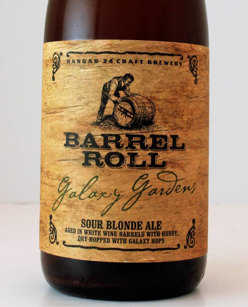 "Hangar 24 Brewery ""Barrel Roll: Galaxy Gardens"" Dry-Hopped Sour Blonde, California"
